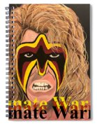 Ultimate Warrior Writing Version Spiral Notebook