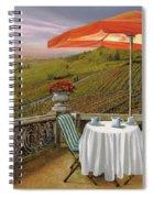 Un Caffe' Nelle Vigne Spiral Notebook