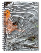 Under Ice Spiral Notebook