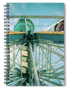 Under The Ferris Wheel Spiral Notebook