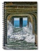 Under The Pier Manhattan Spiral Notebook