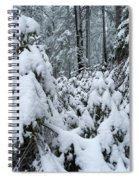 Under The Snow Spiral Notebook