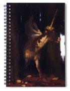 Unicorn 1885 Spiral Notebook
