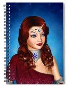 Unicorn Princess Adoria Spiral Notebook