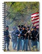 Union Infantry Advance Spiral Notebook