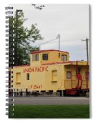 Union Pacific Caboose Spiral Notebook