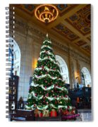 Union Station Decorates For Christmas In Kansas City Spiral Notebook