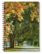 Connecting With Your Roots Spiral Notebook