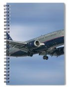 United Airlines Boeing 737-522 Spiral Notebook