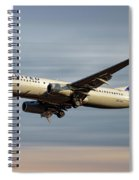 United Airlines Boeing 737-824 Spiral Notebook