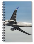 United Airlines Boeing 767-322 Spiral Notebook