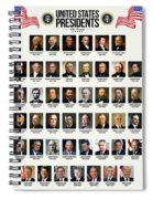 United States Presidents Spiral Notebook