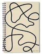 Untitled Iv Spiral Notebook