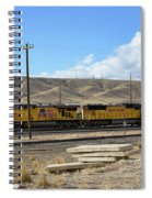 Up 5400 Passing Through Spiral Notebook