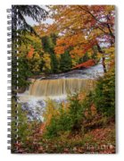 Upper Tahquamenon Autumn Colors -0007 Spiral Notebook