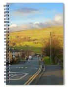 Upper Wensleydale From Hawes Yorkshire Dales National Park Spiral Notebook