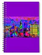 Urban Color Spiral Notebook
