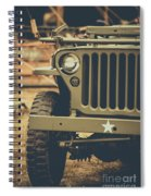 Us Army Jeep World War II Spiral Notebook