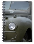 Us Army Staff Car World War II Spiral Notebook