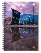 Us Bank Stadium In Minneapolis Spiral Notebook