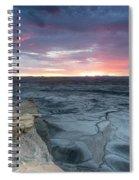 Utah Desert Sunrise Spiral Notebook