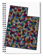 Utah Map - 1 Spiral Notebook