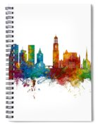 Utrecht The Netherlands Skyline Spiral Notebook