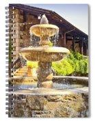 V Sattui Winery 2 Spiral Notebook