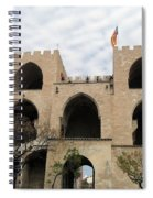 Valencia Fort Building Spiral Notebook