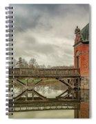 Vallo Castle Wooden Moat Bridge Spiral Notebook