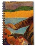 Van Gogh Painting Sunflowers 1888 Spiral Notebook