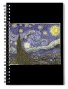 Van Goh Starry Night Spiral Notebook