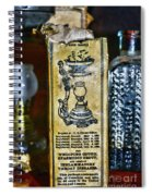 Vapo-cresolene Vaporizer Liquid Poison Original Packaging Spiral Notebook