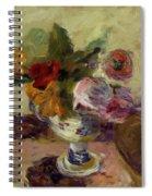 Vase Of Flowers 1886 Spiral Notebook