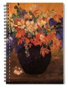 Vase Of Flowers 1896 Spiral Notebook