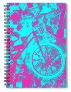 Vehicle Of News Spiral Notebook