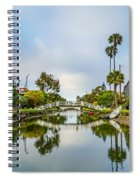 Venice Canals Spiral Notebook