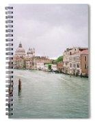 Venice Grand Canal Spiral Notebook