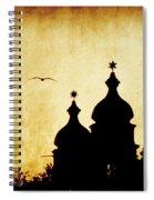 Venice Silhouette Spiral Notebook