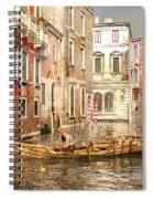 Venice The Little Yellow Duck Spiral Notebook