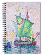 Venice, The Pink Cloud - Digital Remastered Edition Spiral Notebook