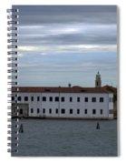 Venice Water Scene Spiral Notebook