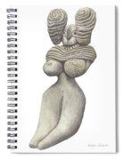 Venus Of Merhgargh Spiral Notebook