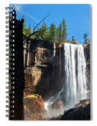 Vernal Fall, Yosemite National Park Spiral Notebook
