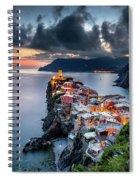 Vernazza Cityscape Spiral Notebook