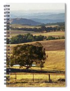 Victoria Countryside Layers Spiral Notebook