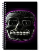 Watchman, Sugarskull Of Passing Time Spiral Notebook