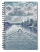View From Kingston Bridge Spiral Notebook