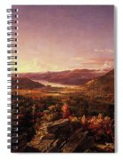 View Of Greenwood Lake, New Jersey Spiral Notebook