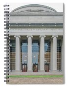 View Of Massachusetts Institute Spiral Notebook